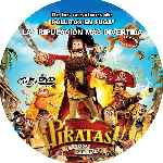 carátula cd de Piratas - 2012 - Custom - V3