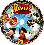 carátula cd de Piratas - 2012- Custom - V7