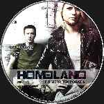 carátula cd de Homeland - Temporada 01 - Disco 04 - Custom