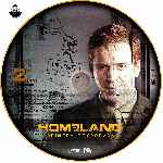 carátula cd de Homeland - Temporada 01 - Disco 02 - Custom - V2