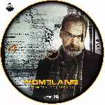 carátula cd de Homeland - Temporada 01 - Disco 04 - Custom - V2
