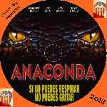 carátula cd de Anaconda - Custom - V2