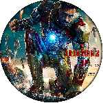 carátula cd de Iron Man 3 - Custom - V06