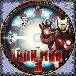 carátula cd de Iron Man 3 - Custom - V11