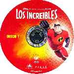 carátula cd de Los Increibles - Disco 1