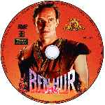 carátula cd de Ben-hur - 1959 - Disco 01 - Custom