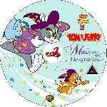carátula cd de Tom Y Jerry - Magicas Desgracias - Custom