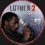 carátula cd de Luther - Temporada 02 - Disco 01 - Custom