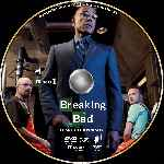 carátula cd de Breaking Bad - Temporada 04 - Disco 01 - Custom - V3