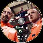 carátula cd de Breaking Bad - Temporada 04 - Disco 02 - Custom - V3