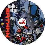 carátula cd de Batman - Asalto A Arkham - Custom