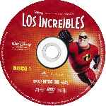 carátula cd de Los Increibles - Disco 1 - Region 1-4