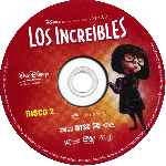 carátula cd de Los Increibles - Disco 2 - Region 1-4