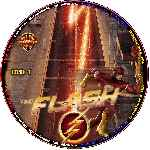 carátula cd de The Flash - 2014 - Custom