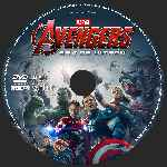 carátula cd de Avengers Era De Ultron - Custom - V10