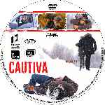 carátula cd de Cautiva - 2014 - Custom - V2