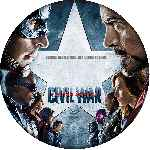 carátula cd de Capitan America - Civil War - Custom - V3