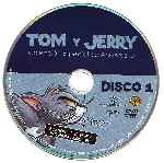 carátula cd de Tom Y Jerry - Coleccion Especial De Aniversario - Disco 01