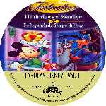 carátula cd de Fabulas De Disney - Volumen 01 - Custom