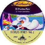carátula cd de Fabulas De Disney - Volumen 02 - Custom
