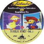 carátula cd de Fabulas De Disney - Volumen 03 - Custom