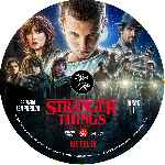 carátula cd de Stranger Things - Temporada 01 - Custom