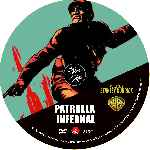 carátula cd de Patrulla Infernal - Custom