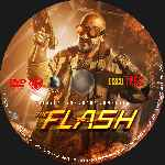 carátula cd de The Flash - 2014 - Temporada 01 - Disco 03 - Custom