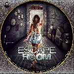 carátula cd de Escape Room - 2017 - Custom - V2