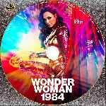 carátula cd de Wonder Woman 1984 - Custom - V4