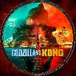 carátula cd de Godzilla Vs. Kong - Custom