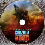 carátula cd de Godzilla Vs. Kong - Custom - V2