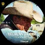 carátula cd de Yellowstone - Temporada 01 - Custom