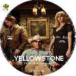 carátula cd de Yellowstone - Temporada 01 - Custom - V2