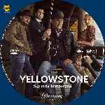 carátula cd de Yellowstone - Temporada 02 - Custom - V2