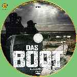 carátula cd de Das Boot - El Submarino - 2018 - Custom