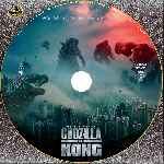 carátula cd de Godzilla Vs. Kong - Custom - V4