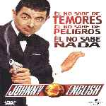 carátula frontal de divx de Johnny English