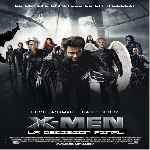 carátula frontal de divx de X-men 3 - La Decision Final - V3
