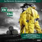 carátula frontal de divx de Breaking Bad - Temporada 03