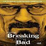 carátula frontal de divx de Breaking Bad - Temporada 04
