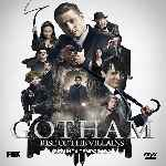 carátula frontal de divx de Gotham - Temporada 02 - Rise Of The Villains