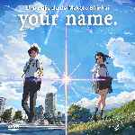 carátula frontal de divx de Your Name
