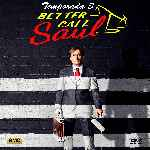 carátula frontal de divx de Better Call Saul - Temporada 03