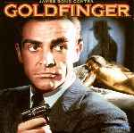 carátula frontal de divx de James Bond Contra Goldfinger