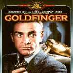 carátula frontal de divx de James Bond Contra Goldfinger - V2