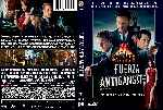 carátula dvd de Fuerza Antigangster - Custom - V2