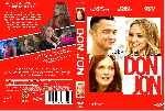 carátula dvd de Don Jon - Custom