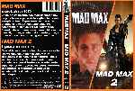 carátula dvd de Mad Max 1 Y 2 - Custom
