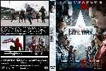 carátula dvd de Capitan America - Civil War - Custom - V2